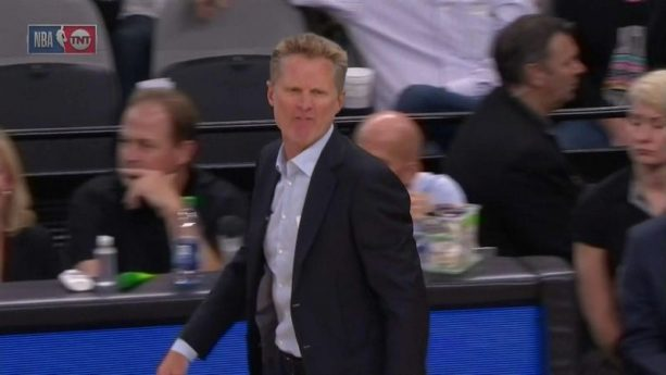 Steve Kerr Dropping F Bombs all Over the Refs