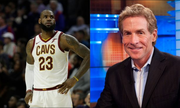 Skip Bayless Got a Twitter Erection After LeBron James' First NBA Ejection