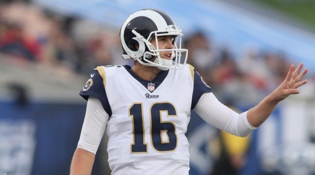 Jared Goff Dropping Fire for Audibles