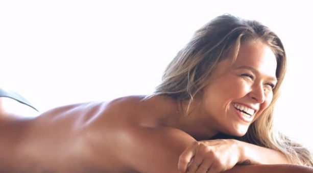 Ronda Rousey Strips Down Behind The Scenes Of Her 1st Swimsuit Photoshoot