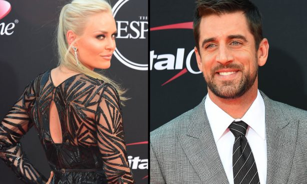 Report: Aaron Rodgers and Lindsey Vonn Already Talking
