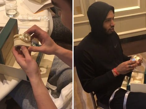 Video- John Wall Gifts Rolex's To Entire Wizards Teammates