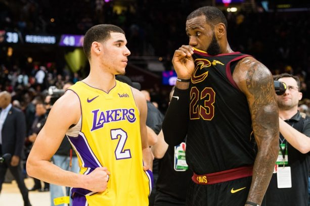 LeBron Knew Exactly What He was Doing Talking to Lonzo Ball