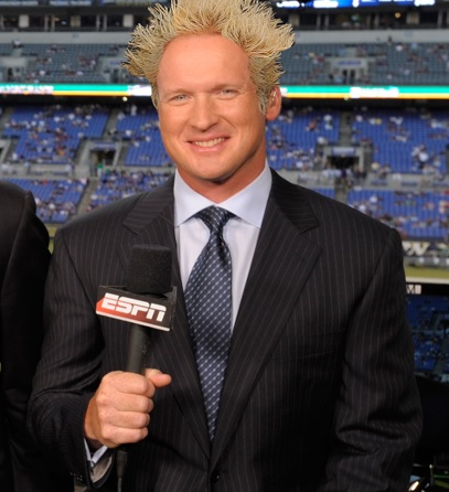 Guy Fieri and Jon Gruden Double Team Some Meat