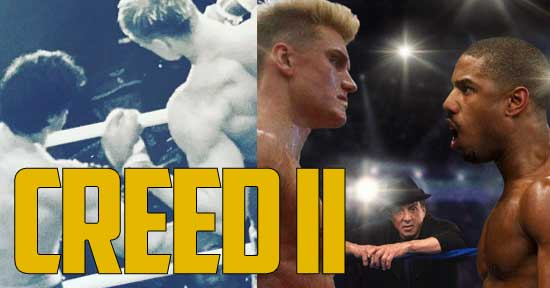 Creed 2 Movie Poster Drops and Reveals a Ton