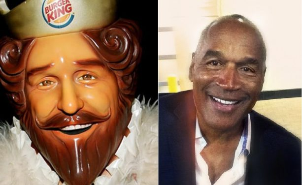Spotted: OJ Simpson Has it His Way at Burger King