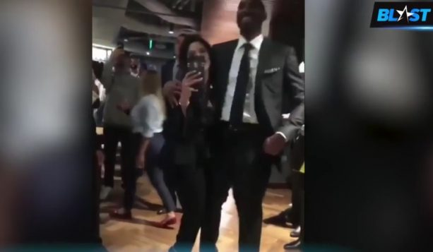 """0f9093cc934 """"The Black Mamba was with wife Vanessa Monday in Los Angeles dancing as Kendrick  Lamar performed """"Humble."""