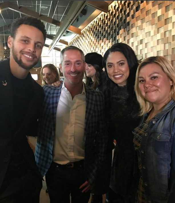 Steph Curry Supporting his Wife Ayesha at her Restaurant