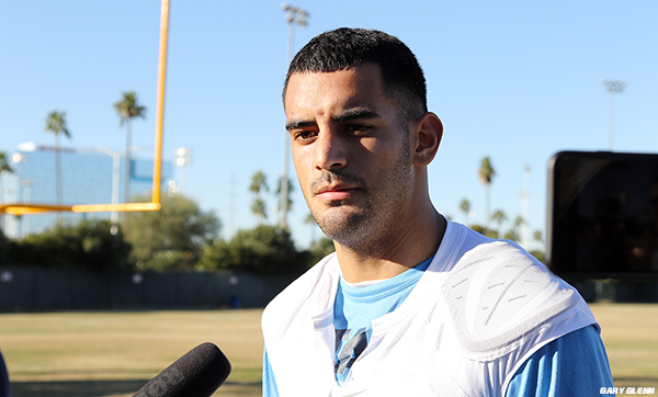 Marcus Mariota Gets Earful from His Mom