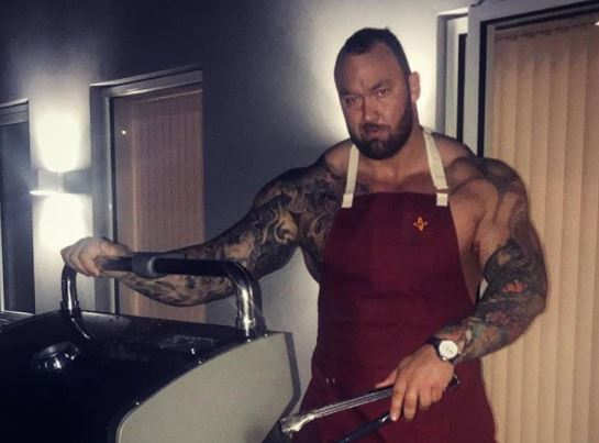 The Mountain Shares Photo Of New Girlfriend and She's A Tiny One