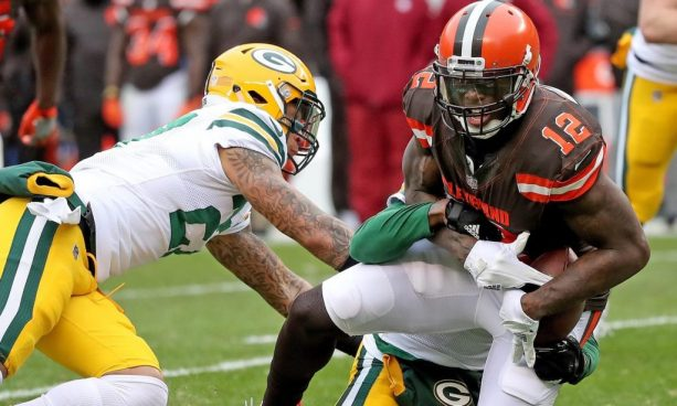 Josh Gordon Takes Shot at the Browns