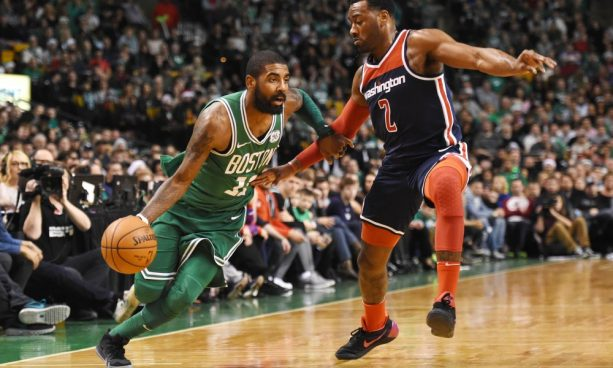 John Wall asked Kyrie Irving for a pair of Kyries During the Game