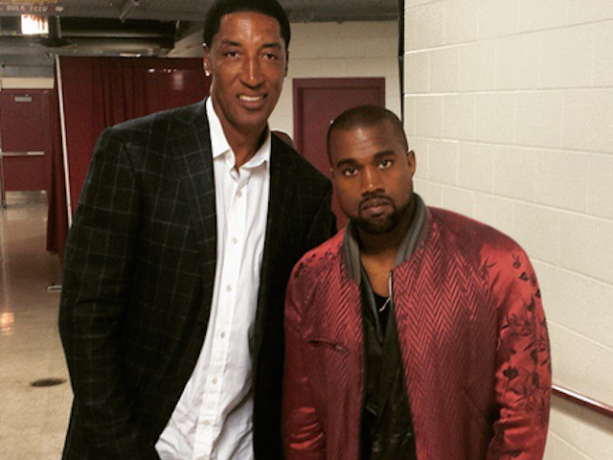 Scottie Pippen Loves Kim & Kanye's New Baby Name