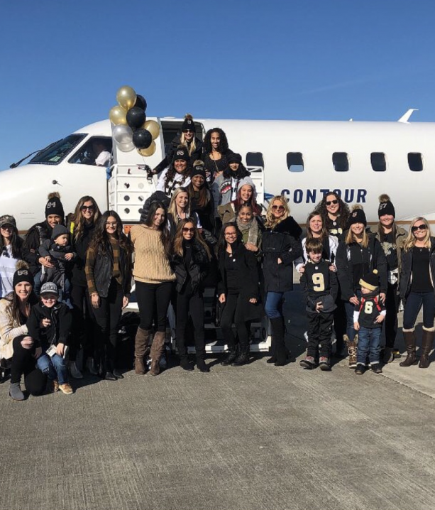 Saints Wives & Girlfriends Flying To Minnesota For The Big Game