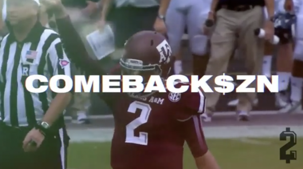 Pictures- Johnny Manziel Is Selling Comeback Gear