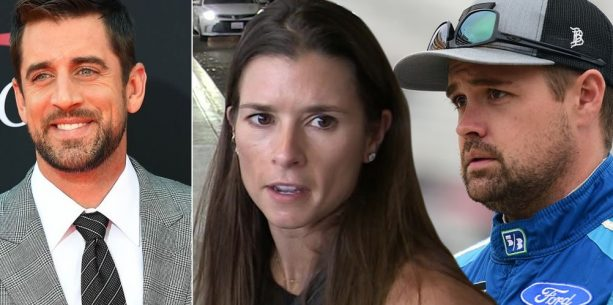 Ricky Stenhouse Makes Move after Aaron Rodgers Danica Rumors