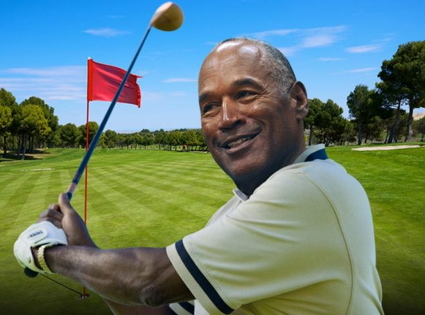 OJ Simpson Still Doing All White on the Golf Course