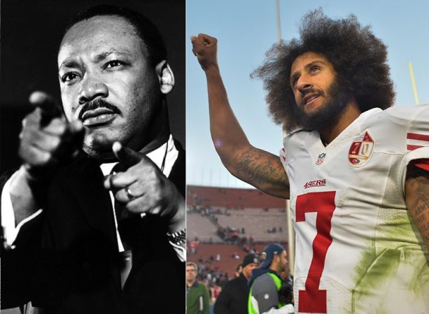 On MLK Day just a Little Reminder about Colin Kaepernick