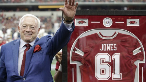 Jerry Jones' Grandson Heading to his Alma mater