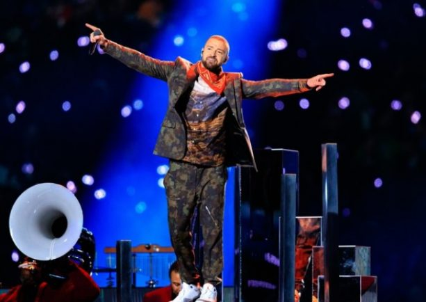 Justin Timberlake's Superbowl Halftime Show Costumes up for Sale