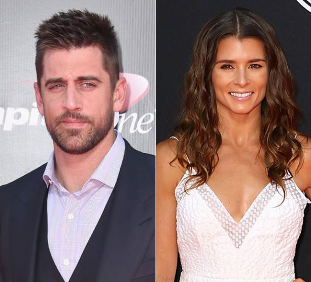 Danica Patrick is Keeping a VERY close eye on her New Man Aaron Rodgers