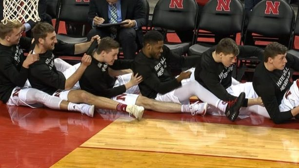 Nebraska's Bench goes all-in on Celebrations