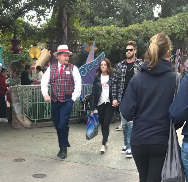 Bryce Harper and Wife Hit the Happiest Place on Earth