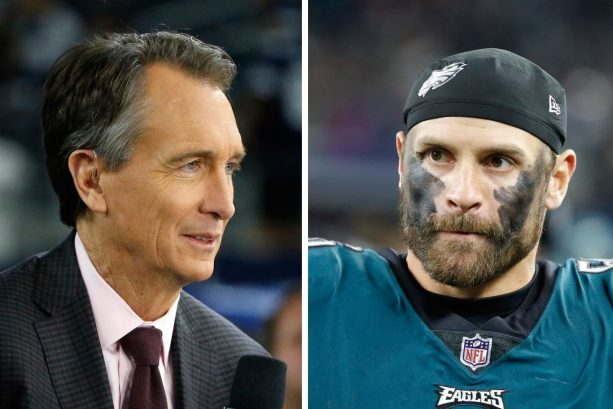 Chris Long Goes in on Chris Collinsworth over Superbowl Touchdown Call