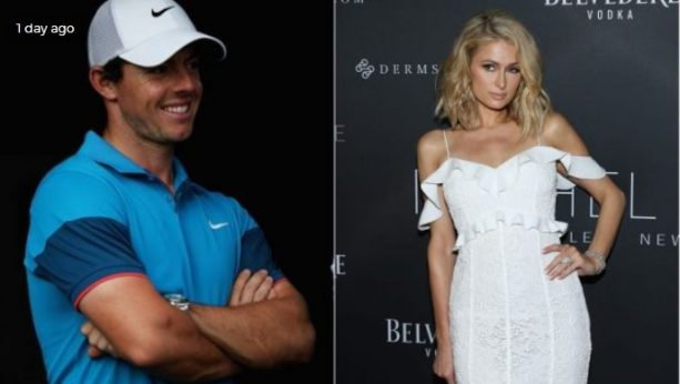 Rory McIlroy and Paris Hilton Getting Close