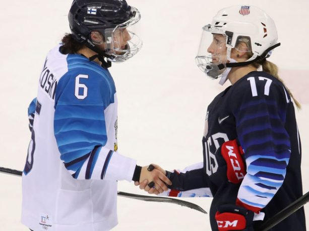 Olympic Hockey Players Told Not to Shake Hands