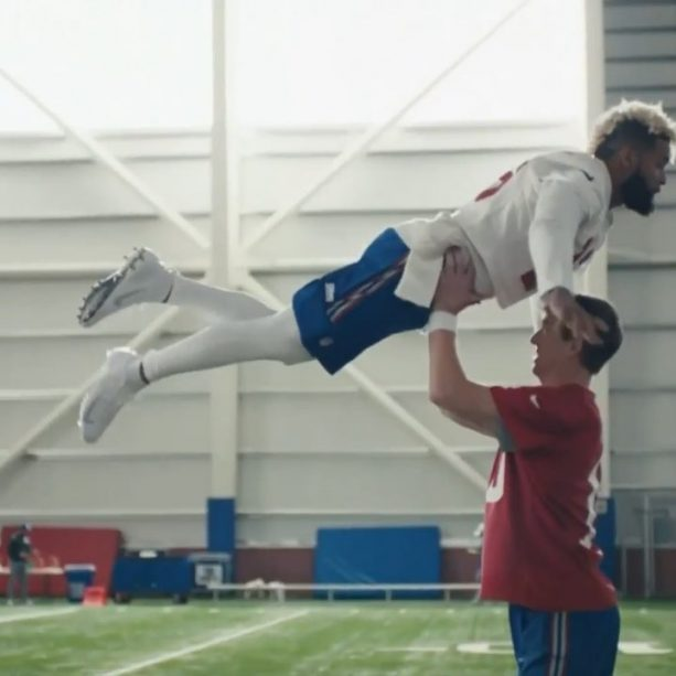 Eli Manning and Odell Beckham Won the Superbowl with this Spot