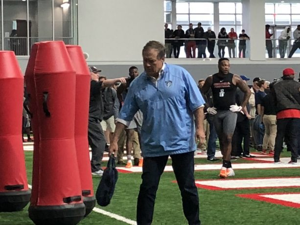 Does Bill Belichick Helping Out With Pro Day Makes Retirement Talk Go Away?