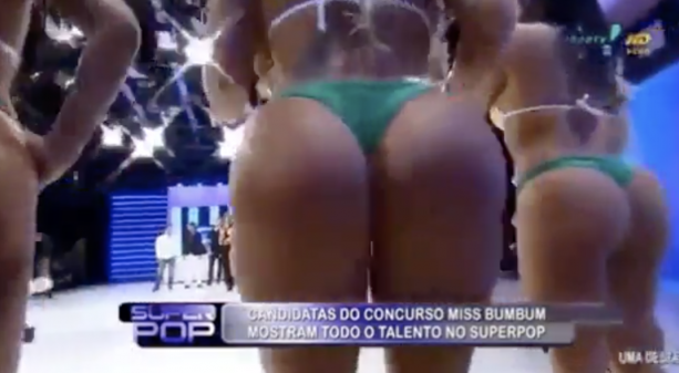 LINDA: Best ass in the world contest