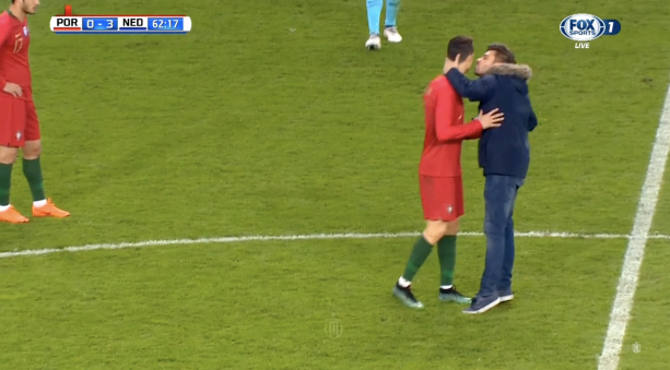 Gay Is The New Straight- Watch Fan Kiss Cristiano Ronaldo On The Lips
