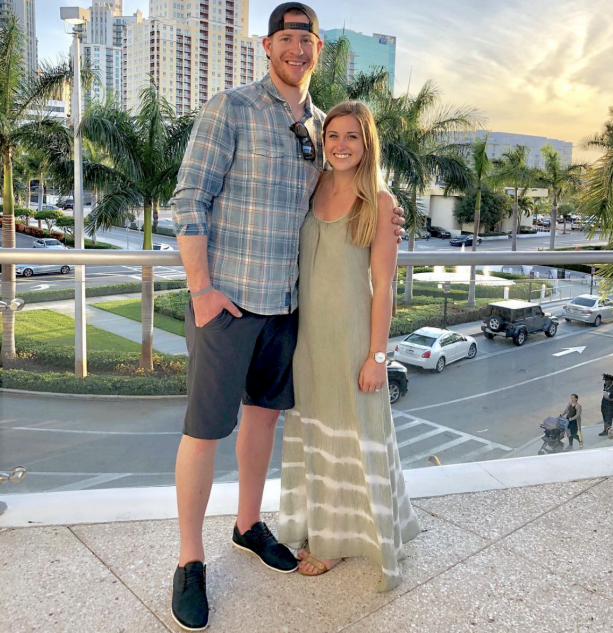 Checkout Carson Wentz and Madison Oberg's Wedding Registry At Bed Bath & Beyond