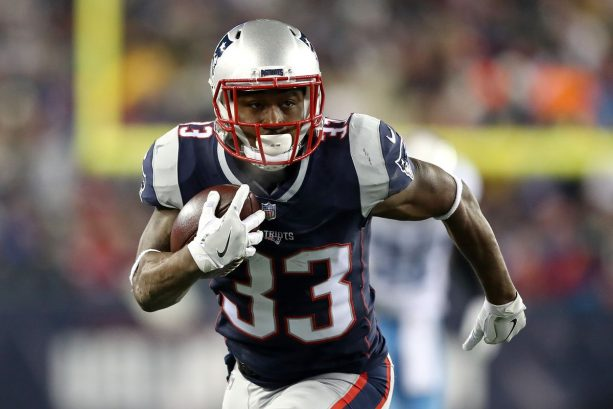 Patriot's Dion Lewis Spotted at E11EVEN Miami