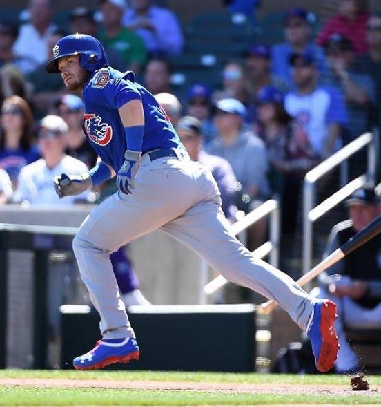 Cubs' Ian Happ Hits Home Run On First Pitch Of Season