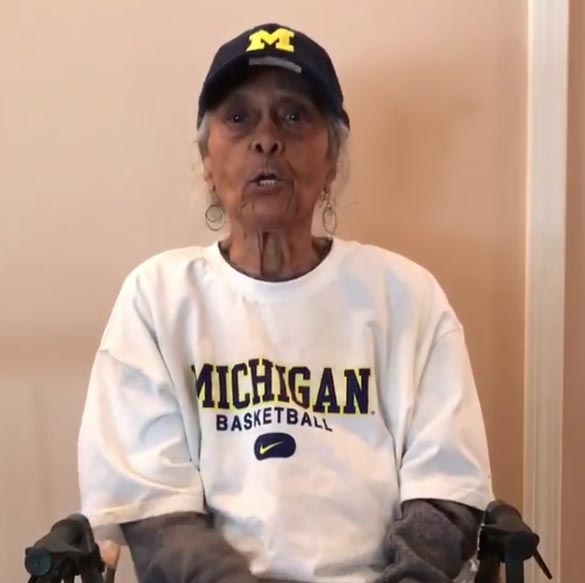 Jalen Rose's 100-Year-Old Grandmother Goes HAM On Sister Jean (VIDEO)