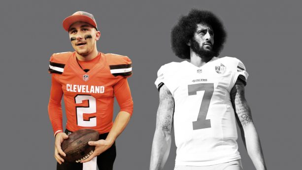Kaepernick & Manziel Throwing Side By Side, Who Would You Rather Have?