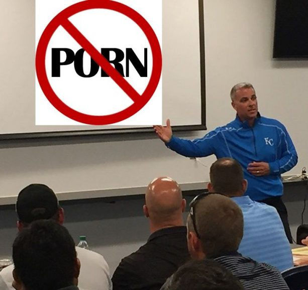Royals First MLB team to 'Take a stand Against Porn'