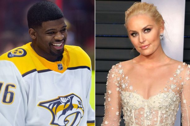 Lindsey Vonn Confirms Relationship With PK Subban