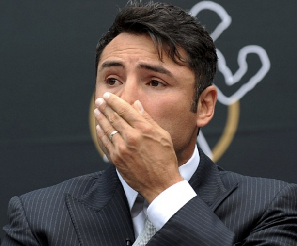 Damn! The Pictures Of Oscar De La Hoya With Utensils In His Butt Have Leaked ?