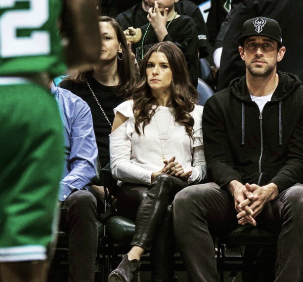 NFL Player Hits On Danica Patrick While In Her Fake Relationship With Aaron Rodgers