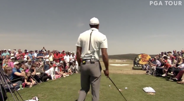 The story of Tiger Woods' first hole-in-one.