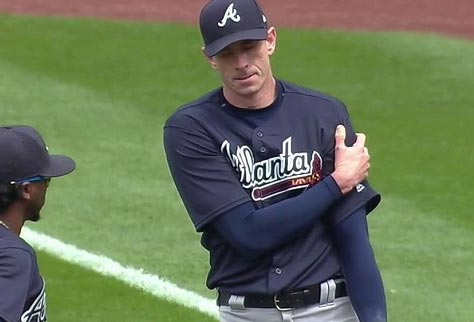 Atlanta Brave Brandon McCarthy Taken To Task By Wife After Dislocating Shoulder