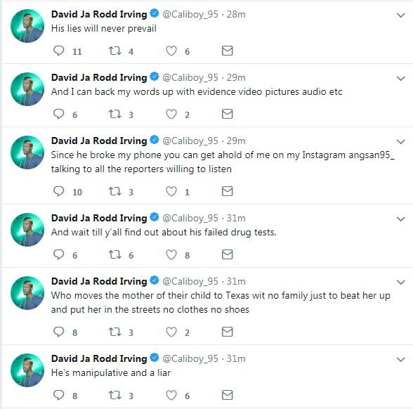 Cowboys DL David Irving's GF Hacks His Acct & Accuses Him Of Domestic Violence