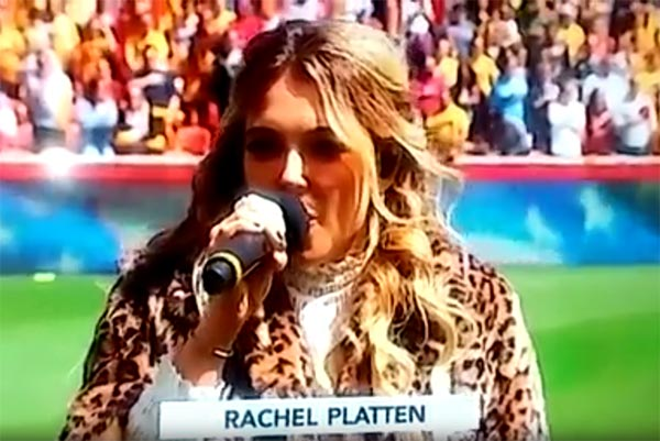 Watch Singer Rachel Platten Brutalize National Anthem (VIDEO)