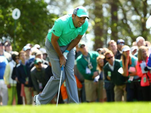 Watch Sergio Garcia Sh*t The Bed At The Masters