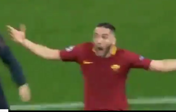 Italian Commentator Goes Nuts After Roma Scores To Beat Barcelona