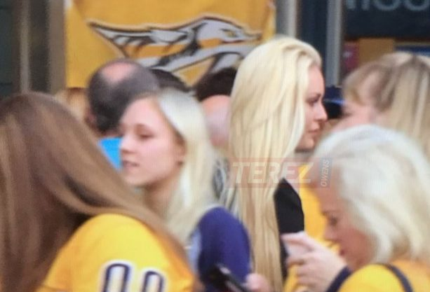 Lindsey Vonn Spotted In Nashville To Watch P.K. Subban